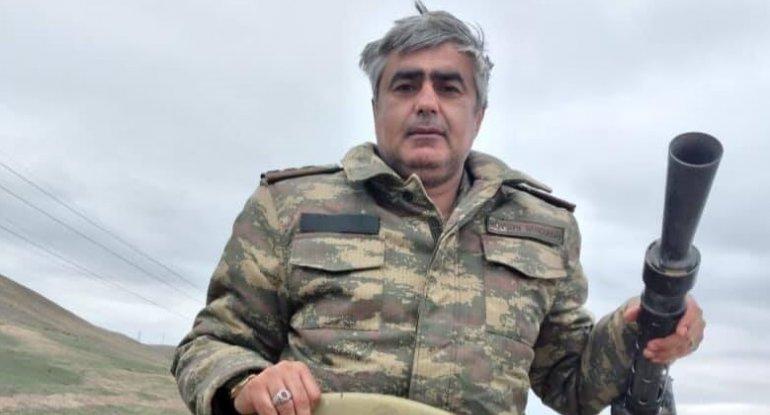 Xalq artistinin oğlu Şuşada şəhid oldu - FOTO