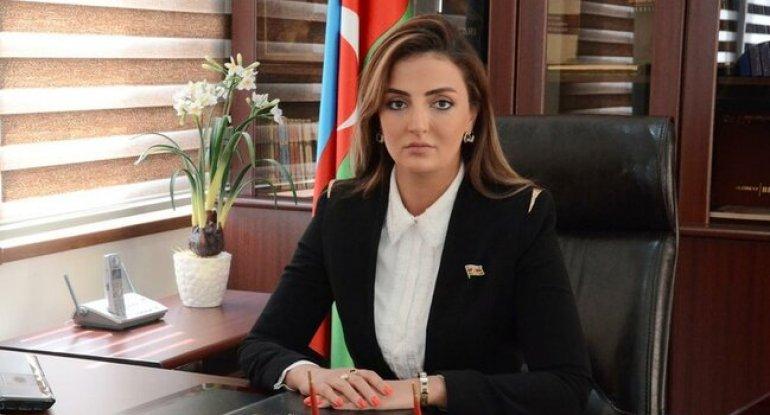 Azərbaycanda xanım deputata töhmət verildi