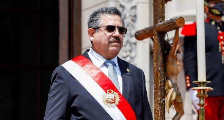 Peru prezidenti istefa verdi