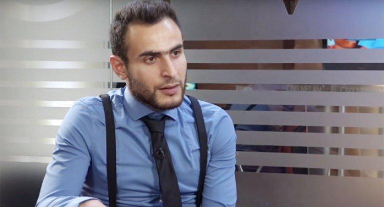 """""""Paşinyan əclafdır, həbs olunmalıdır"""" - Erməni şərhçi"""
