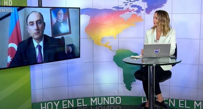 Erməni cinayətləri Kolumbiya televiziyasında - VİDEO