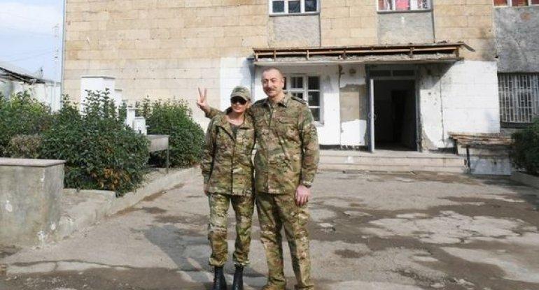 İlham Əliyev və Mehriban Əliyeva Füzuli, Cəbrayıl və Xudafərində - FOTO