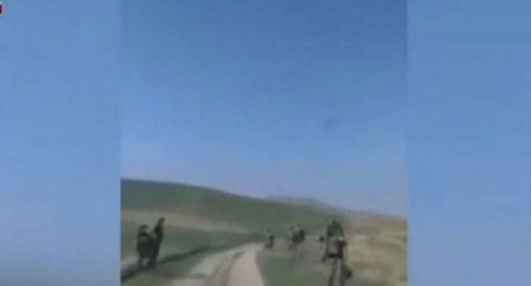 Ermənilərin qaçan komandiri axtarılır - VİDEO