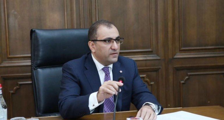 Ermənistan parlamenti aparatının sabiq rəhbəri həbs olundu