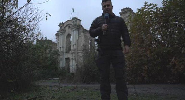 """""""Euronews"""" viran edilmiş Füzulidən reportaj hazırlayıb - VİDEO"""
