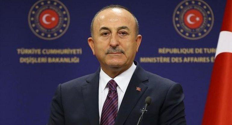 """Çavuşoğlu: """"Hüquqlarını qorumaq üçün Azərbaycanın yanında olacağıq"""""""