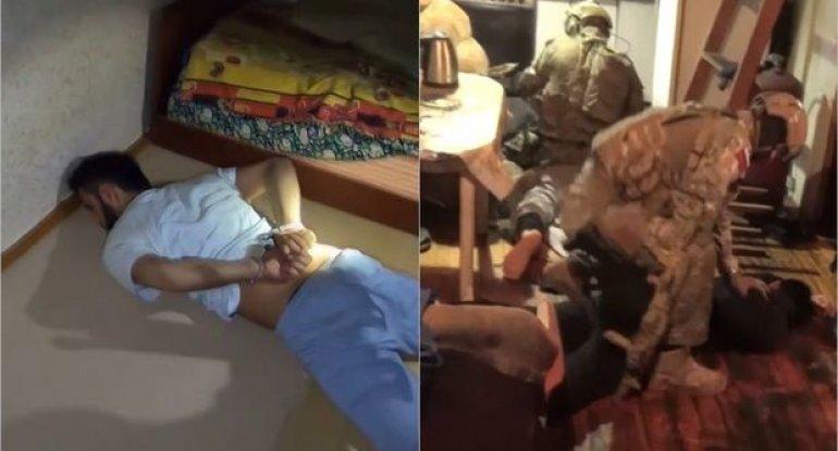 Moskvada terror planlaşdıran İŞİD üzvləri ələ keçdi - VİDEO