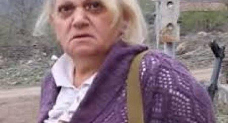 """""""Biz geri dönəcəyik..."""" - Laçının Zabux kəndindəki silahlı erməni qadın - VİDEO"""