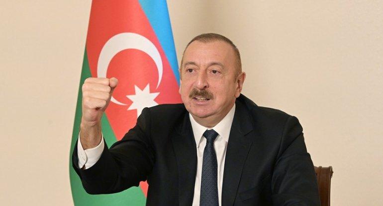 Prezident İlham Əliyev xalqa müraciət edir - CANLI YAYIM