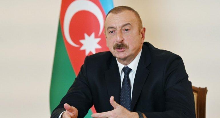 """Dövlət başçısı: """"Biz Ağdam, Kəlbəcər və Laçın rayonlarını bir güllə atmadan ..."""