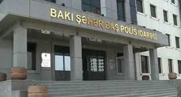 Bakı polisinə yeni rəis müavini təyin edildi