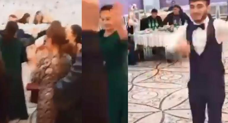 Bakıda rəzalət: Karantində şadlıq evində toy... - ŞƏHİDLƏRƏ SAYĞISIZLIQ / VİDEO