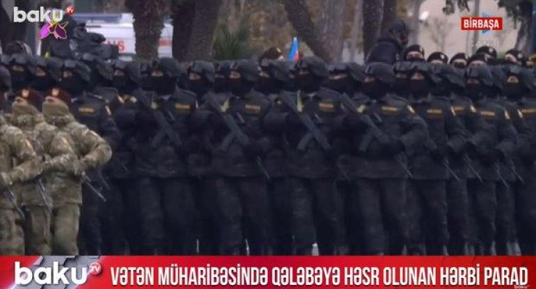 Azərbaycan ilk dəfə olaraq Xarici Kəşfiyyat Xidmətinin YARASA xüsusi bölməsini göstərdi - VİDEO