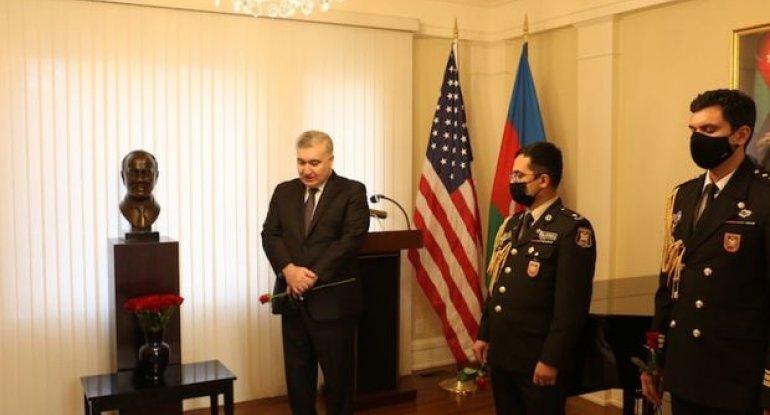 Ümummilli lider Heydər Əliyevin əziz xatirəsi Vaşinqtonda yad olunub - FOTO