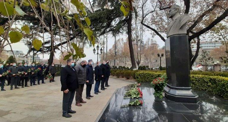 Gürcüstanda ümummilli lider Heydər Əliyevin xatirəsi anılır - FOTO