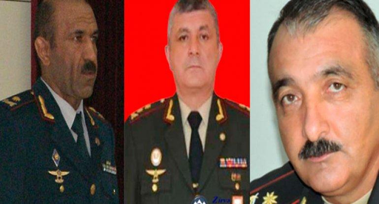 Prezidentin təltif etdiyi generallar kimlərdir?