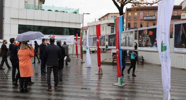 """Türkiyədə """"Qarabağ Azərbaycandır!"""" sərgisi açılıb - FOTO"""