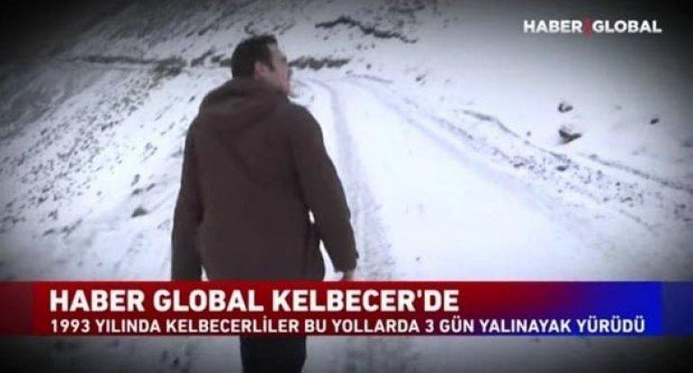 """""""Haber Global"""" Kəlbəcərdə: Qar donunu geyinmiş, dəhşət günlərinin şahidi dağlar... - VİDEOREPORTAJ"""