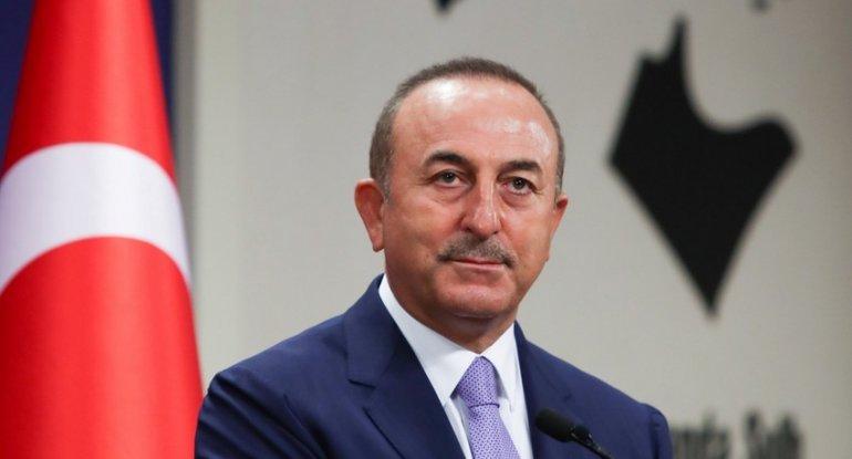 """Mövlud Çavuşoğlu: """"Rusiya ermənilərin atəşkəsi pozmasının qarşısını almalıd ..."""