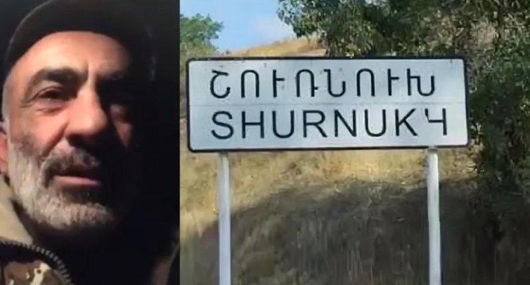 Ermənilər Şurnuxu kəndi istiqamətində TƏXRİBAT HAZIRLAYIR