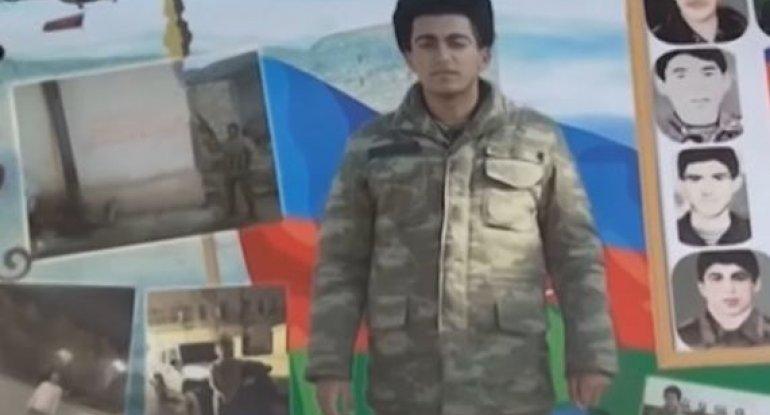 Qəhrəmanlıq dastanı yazan şəhid Röyad Məmmədov - VİDEO