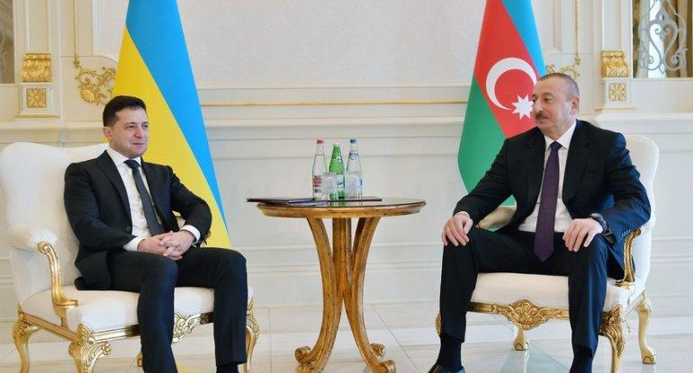 Zelenski Azərbaycan Prezidentini təbrik etdi