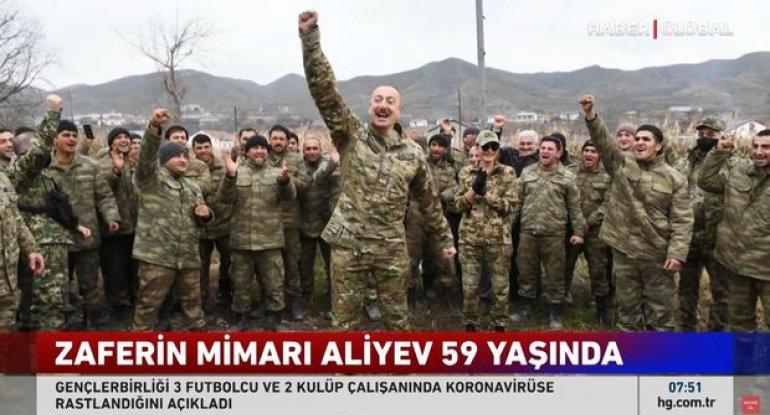 Zəfərin memarı İlham Əliyev 59 yaşında - VİDEO