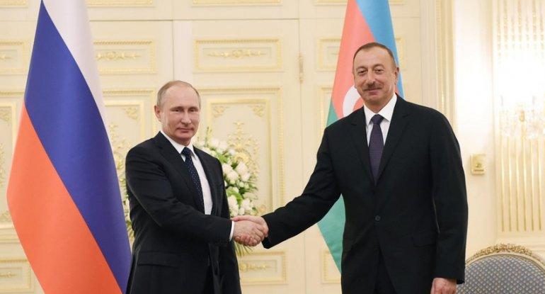 Putin Prezident İlham Əliyevi təbrik edib
