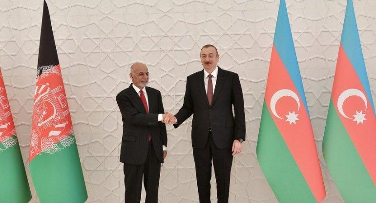 Məhəmməd Əşrəf Qani Azərbaycan Prezidentinə məktub göndərib