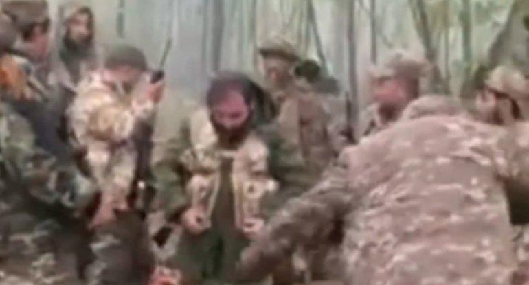 Rus sülhməramlılarının nəzarətində olan yerlərdə gizlənən erməni terrorçula ...