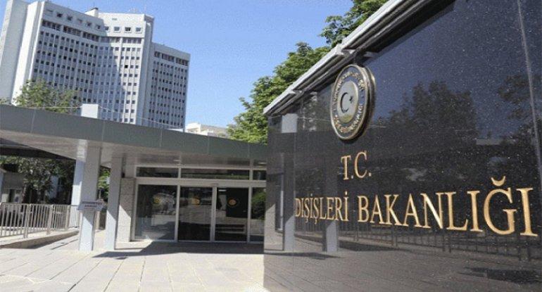 """""""Ermənistan buna görə məsuliyyət daşıyır"""" - Türkiyə XİN"""