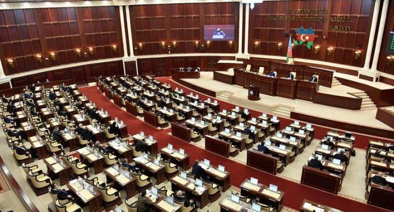 Milli Məclisin payız sessiyası çərçivəsində sonuncu iclası keçirilir