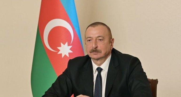"""Prezident: """"Terrorçular Xocavəndə Ermənistandan noyabrın 26-dan sonra gəlib ..."""
