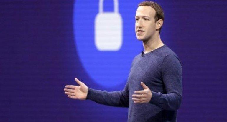 """""""Facebook""""un qurucusu Trampın sosial media hesablarının bağlanmasına münasi ..."""