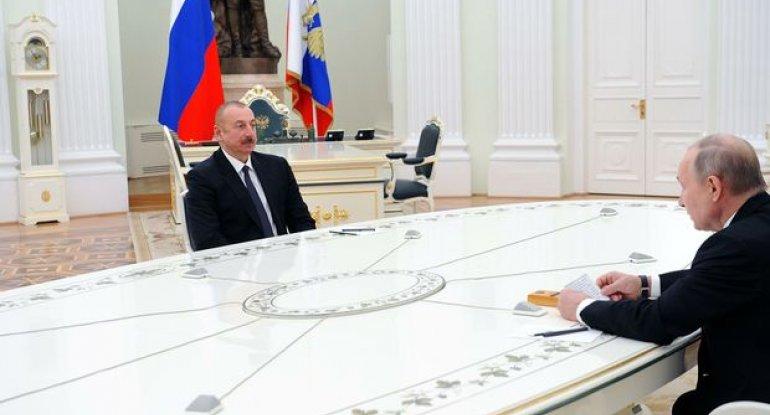 Rusiya, Azərbaycan və Ermənistan liderləri birgə bəyanata imza atıblar