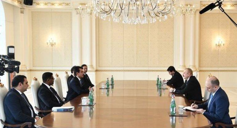 Prezident İlham Əliyev ICESCO-nun Baş direktorunu qəbul edib