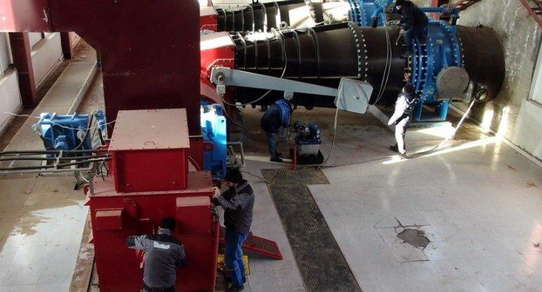 Laçındakı su elektrik stansiyası yenidən qurulur - VİDEO