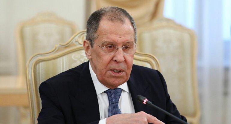"""Lavrov: """"Azərbaycan girovların siyahısını hazırlasa da, erməni tərəfi bunu  hazırlamayıb"""""""