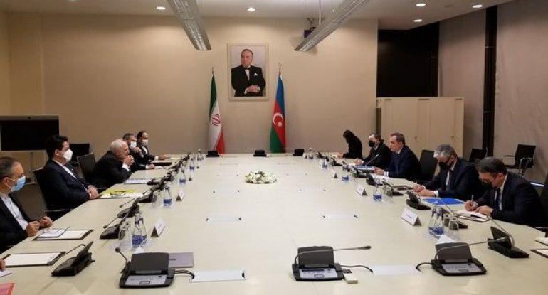 Azərbaycan və İran XİN rəhbərlərinin görüşü başladı - FOTO/VİDEO