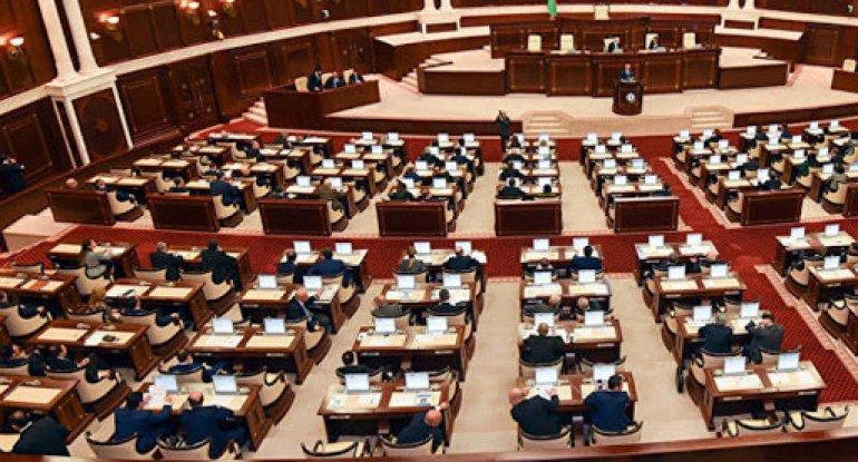 Fevralın 1-dən Milli Məclisin plenar iclasları öz işinə başlayır
