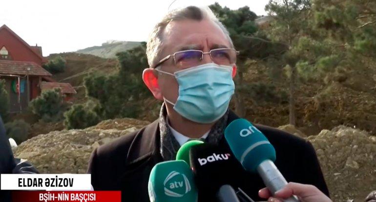 Eldar Əzizovdan Badamdarda baş verən hadisə ilə bağlı açıqlama - VİDEO
