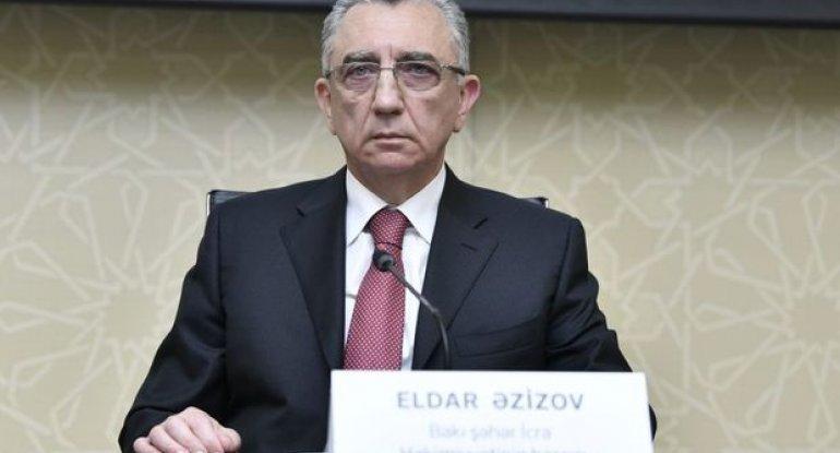 """Eldar Əzizov: """"Badamdardakı sürüşmə ilə bağlı tədbirlər planı hazırlanacaq"""" - VİDEO"""