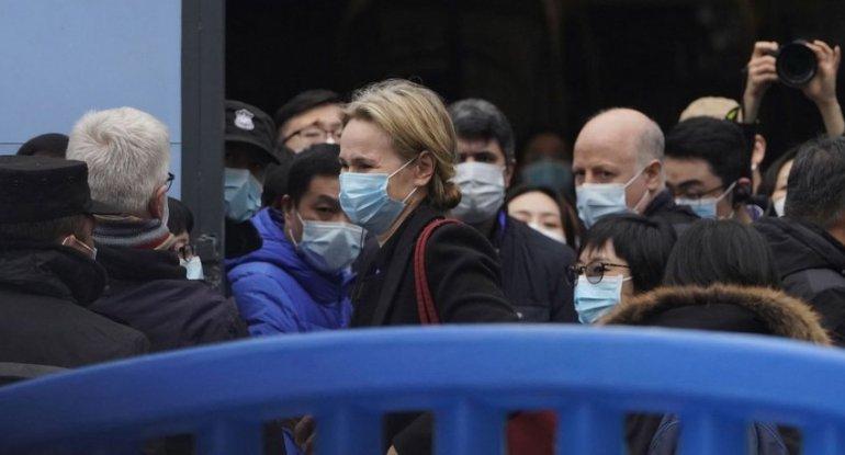 ÜST-ün nümayəndə heyəti koronavirusun ilk aşkarlandığı bazara gedib