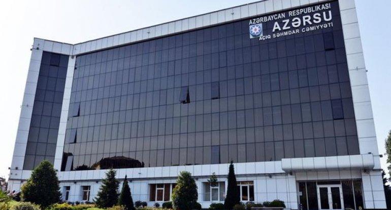 """Tarifin artırılması """"Azərsu"""" ASC-nin yeni binasının tikintisi ilə əlaqəlidir? - AÇIQLAMA"""