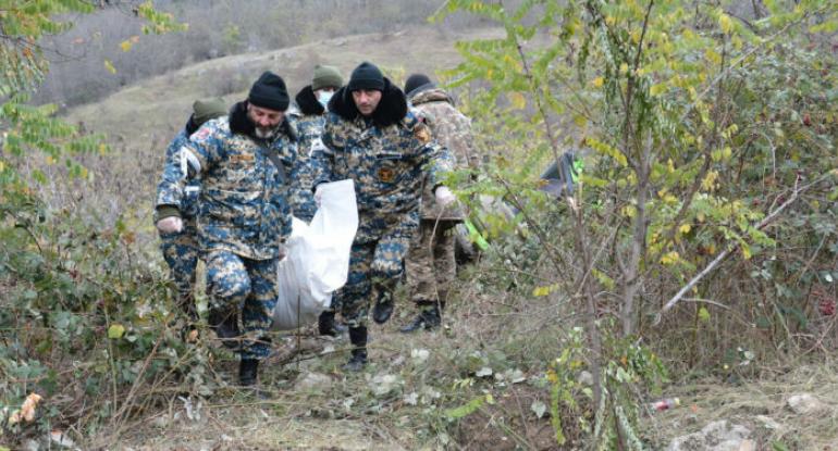 Qarabağda daha 9 erməni hərbçinin cəsədi tapıldı