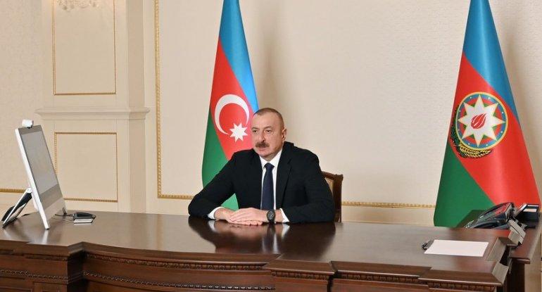 Prezident İlham Əliyev Azərbaycan vətəndaşlarına müraciət edib