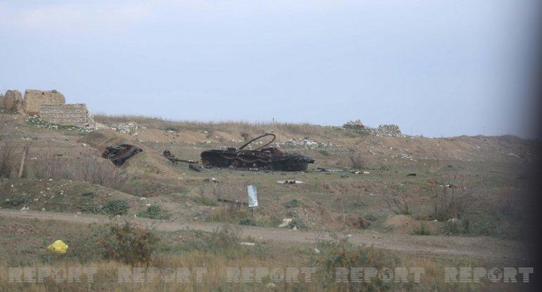 Prezident işğaldan azad edilmiş ərazilərdə minaya düşənlərdən danışdı