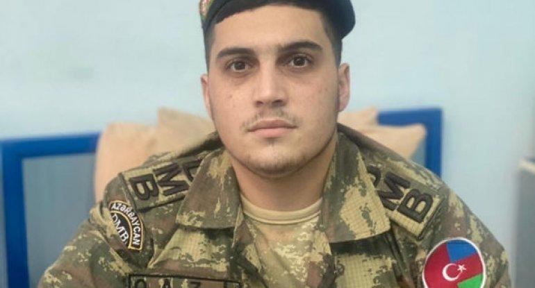 """Üç medallı 20 yaşlı Qarabağ qazisi: """"Ayaqlarımı yaralandığım yerdə basdırdılar"""" - MÜSAHİBƏ + FOTO"""