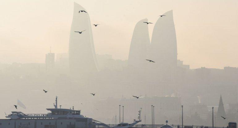 Bakıda dumanlı hava şəraiti nə vaxta kimi davam edəcək?
