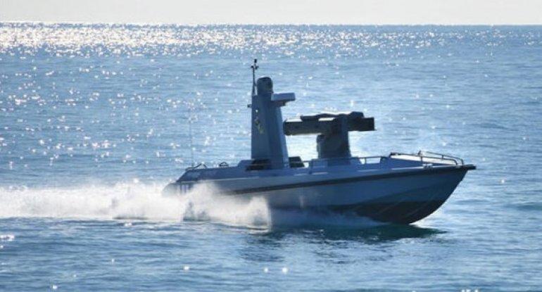 Türkiyənin ilk silahlı pilotsuz gəmisi suya endirildi